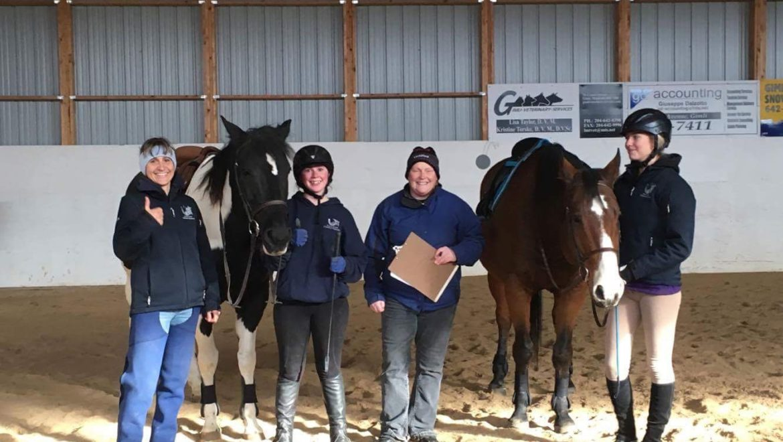Equestrian Canada Rider level test done